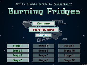 Burning Fridges - Menu