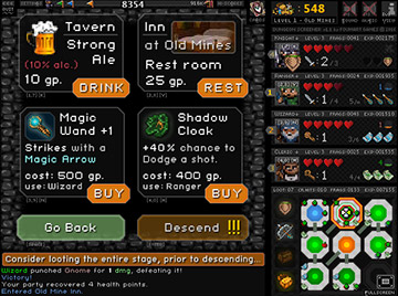 Dungeon Screener - Tavern