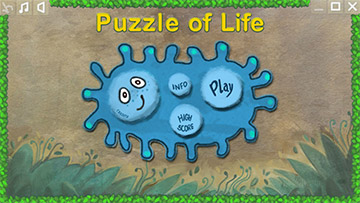 Puzzle Of Life - Main Menu