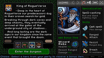 RogueVerse Dungeon - Briefing